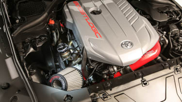 Toyota Supra HyperBoost Edition - engine