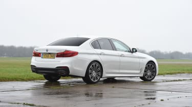 BMW 5 Series 520d xDrive 2017 - rear quarter