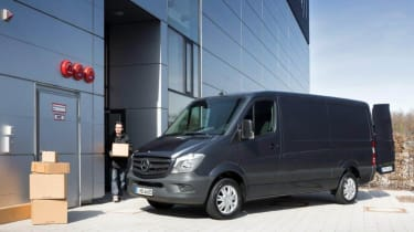 The Sprinter is offered in nine bodystyles.