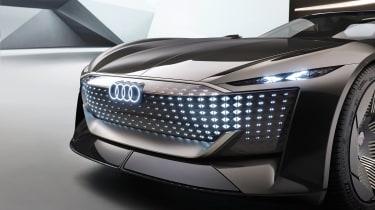 Audi skysphere concept - studio grille