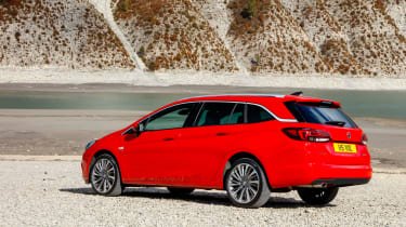 New Vauxhall Astra Sports Tourer - rear quarter