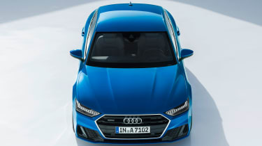 Audi A7 Sportback - full front above