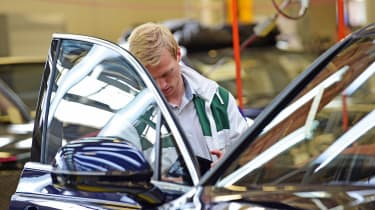 Bentley is investing a lot of money not only in the latest generation of vehicles, but also in the latest generation of workers and apprentices for the future.