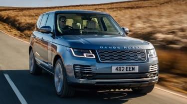 Range Rover PHEV - fron tracking