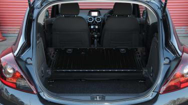 Vauxhall Corsa Black Edition boot