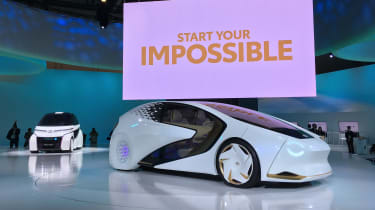 Toyota Concept-i RIDE and Concept-i