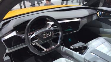 Audi h-tron concept - show interior
