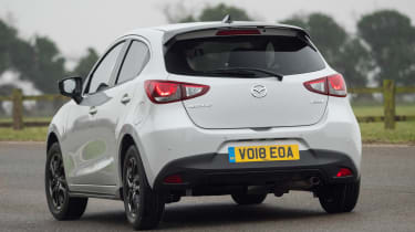 Mazda 2 Sport Black - rear action