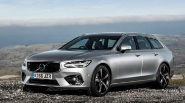 Volvo V90 R-Design 2017 - front quarter