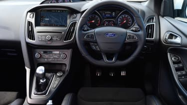 Ford Focus RS first UK drive - interior
