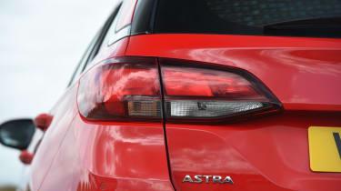 Vauxhall Astra Sports Tourer - tail-light