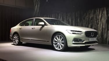 Volvo S90 Excellence - show front