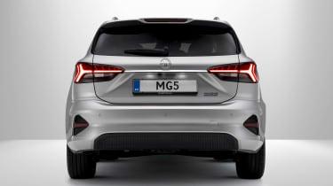MG 5 EV - rear
