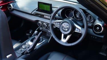 Mazda MX-5 long termer - first report dash