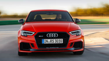 Audi RS3 saloon - front cornering