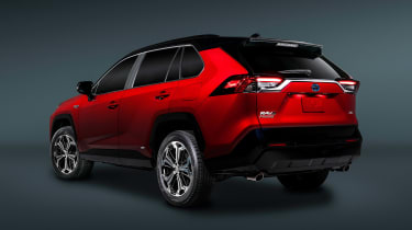Toyota RAV4 Prime - rear static