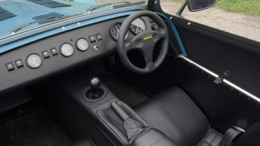 Caterham Seven 160 front interior