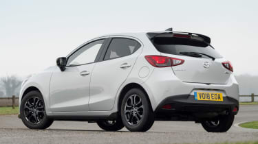 Mazda 2 Sport Black - rear static