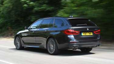 BMW 5 Series Touring - rear