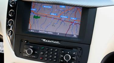 Maserati GranTurismo Sport centre console