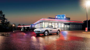 Elvis Presley BMW 507 - header