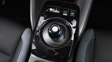 Nissan Leaf - centre console