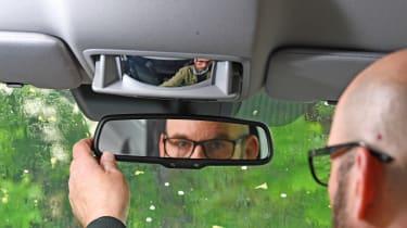 Honda CR-V: long-term test - rear view mirror