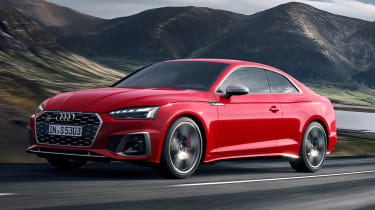 2019 Audi S5 - front tracking