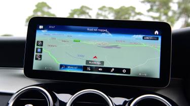 Mercedes GLC 220 d  - navigation