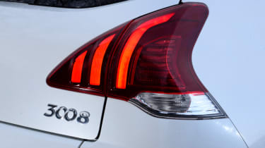 The facelift has given the 3008 LED lights, which provide a more modern look to the exterior.