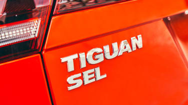 Volkswagen Tiguan Allspace - Tiguan SEL badge