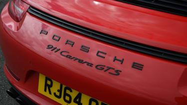 Porsche 911 GTS rear centre