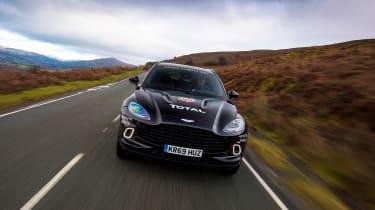 Aston Martin DBX prototype - full front