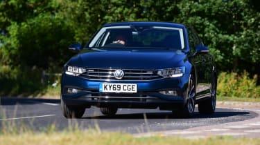 Volkswagen Passat front