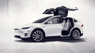 The Model X will generate 762bhp in P90D guise, making it the world's fastest SUV.