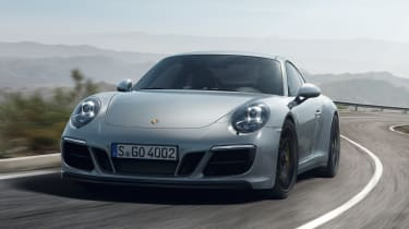 Porsche 911 Carrera 4 GTS - front