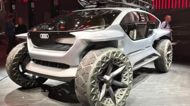 Audi AI: Trail - front 3/4 static Frankfurt