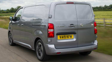 Vauxhall Vivaro van - rear tracking
