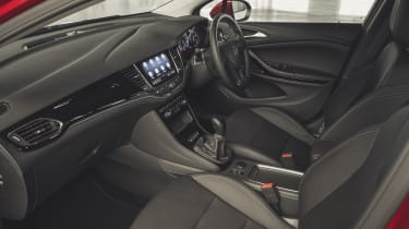 Vauxhall Astra 2019 facelift - interior