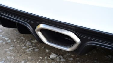 Alpine A110 Pure - exhaust