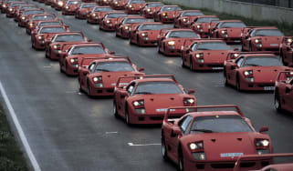 Ferrari F40 group