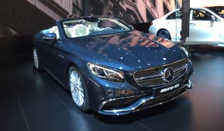 Mercedes-AMG S 65 Cabriolet show front