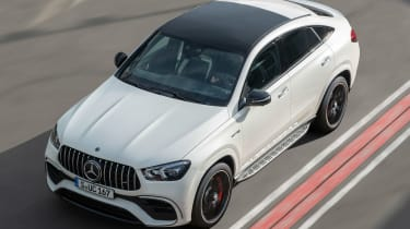 Mercedes-AMG GLE 63 S Coupe - front above