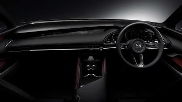 Mazda Kai concept - dash