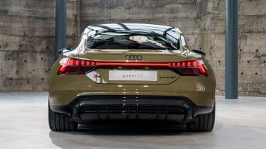 Audi e-tron GT - brown full rear