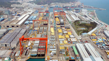 Hyundai Ulsan - dock