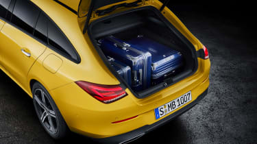 Mercedes CLA Shooting Brake - studio boot