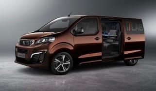 Peugeot Traveller i-Lab Concept - Side Profile