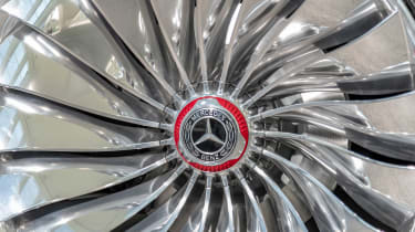 Vision Mercedes-Maybach Ultimate Luxury concept - wheel detail