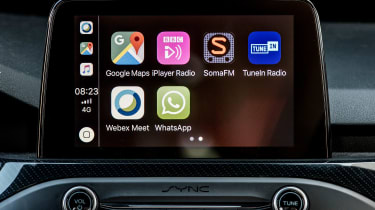 Ford Focus ST - apps